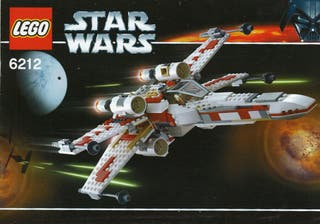 LEGO 6212 X-wing fighter I