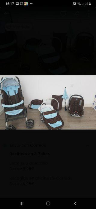 carrito 3 piezas Prenatal