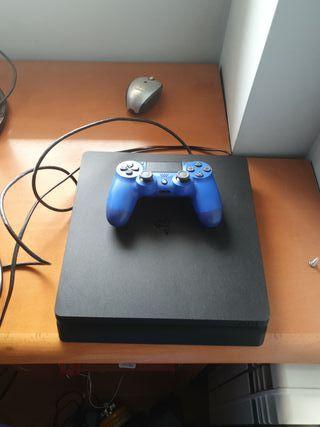 Ps4 Slim Mando Azul