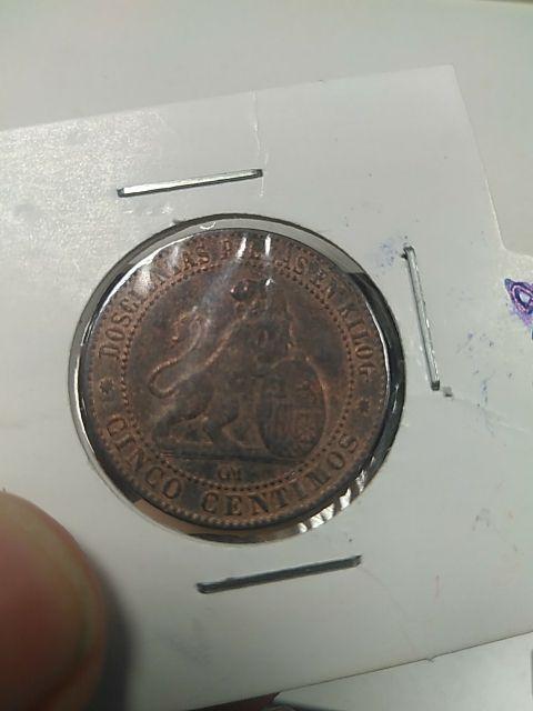 5 céntimos 1870
