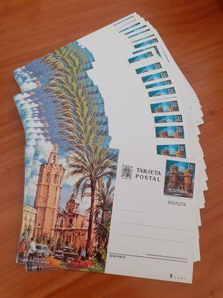 Lote 50 postales Miguelete 1974