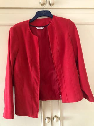 Women Red Jacket