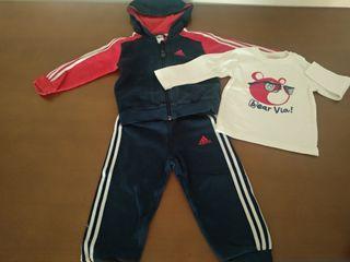 Chandal bebé niño 2 años Adidas