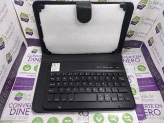 FUNDA TABLET + TECLADO BLUETOOTH