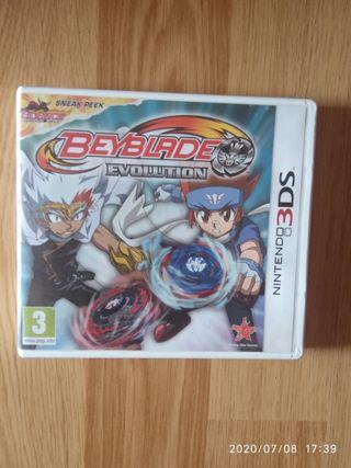 Juego Beyblade Evolution Nintendo 3DS