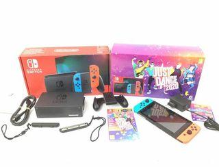 E321192 Nintendo Switch V2 (2019) Pack
