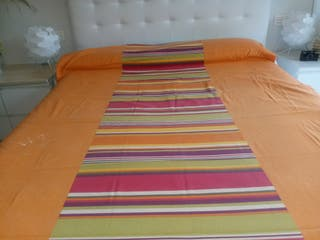 funda nordica naranja cama de 90cm