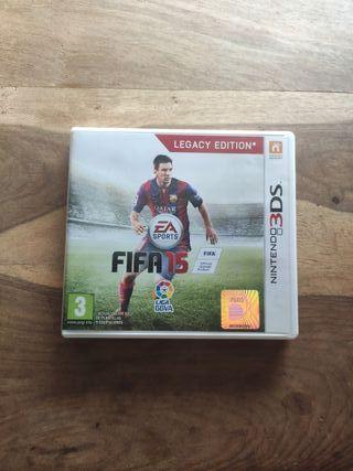 FIFA 15 legacy edition - Juego Nintendo 3DS