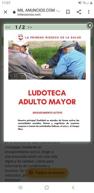 Ludoteca Adulto Mayor