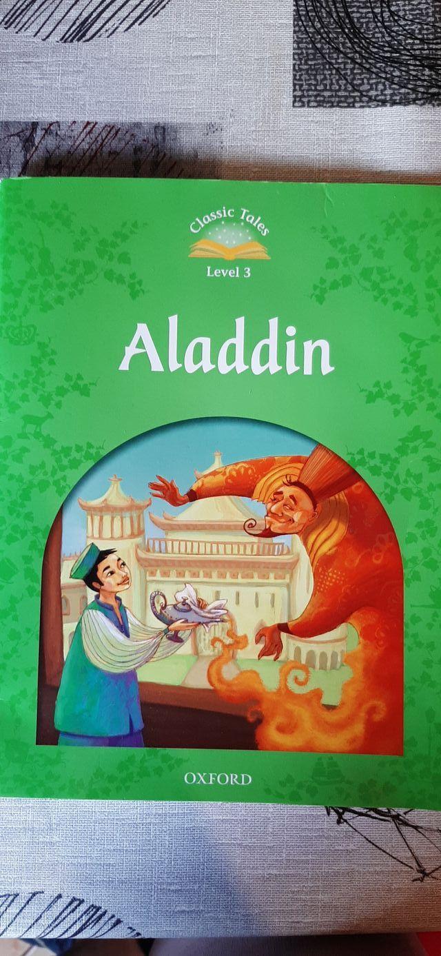 Libro de lectura Aladdin (en inglés)