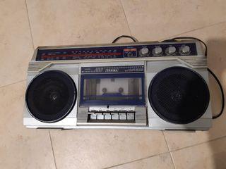 Radio con cassette