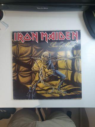 Vinilo Iron Maiden Piece of Mind FA 3245