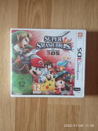 Juego Super Smash Bros Nintendo 3DS