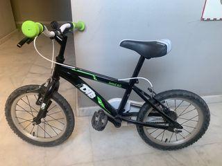 """Bicicleta Decthlon 14"""" niños de 4-7 años"""
