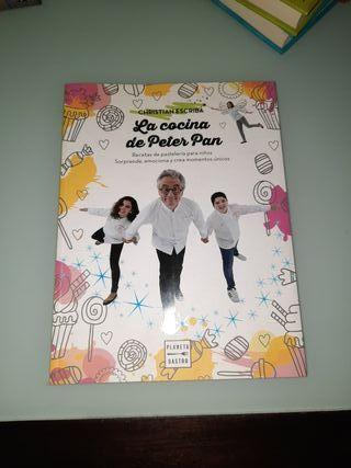 """Libro cocinar con niños """"La cocina de Peter Pan"""""""