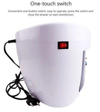 Caja limpieza UV