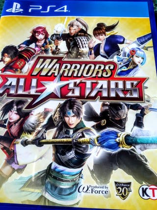 Videojuego Warriors all stars Ps4 PlayStation Play