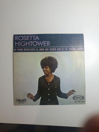Single Rosetta Hightower No puedo volver...