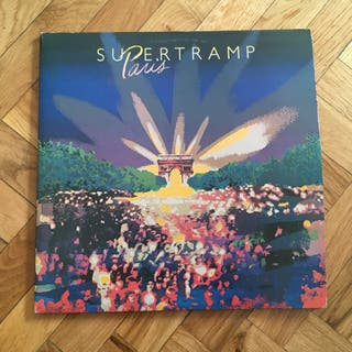 Disco vinilo pop rock Supertramp Paris