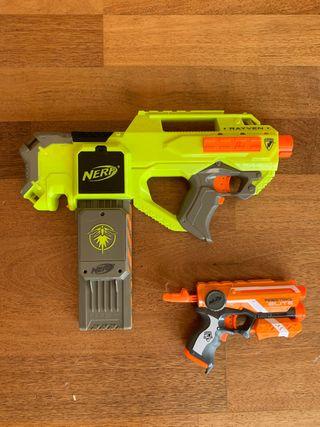 Pistoles nerf