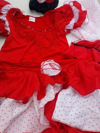 Disfraz flamenca