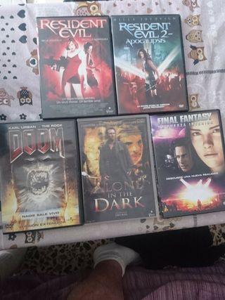 5 Películas de VIDEOJUEGOS.