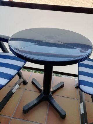 mesa terraza/balcón