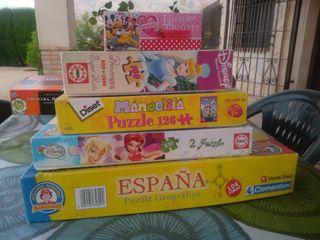 Surtido de Juegos y puzzles infantiles