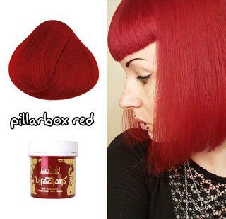 Tinte Cabello Semipermanente Pelo Rojo Oscuro