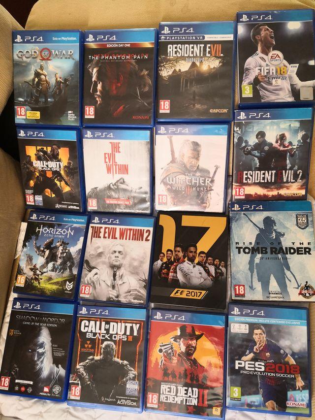 videojuegos ps4 como nuevos.