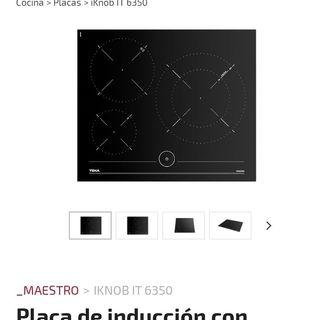 placa induccion teka
