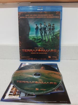 terraformars bluray