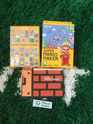 (Wii U) Super Mario Maker + Art Book - E. Limitada