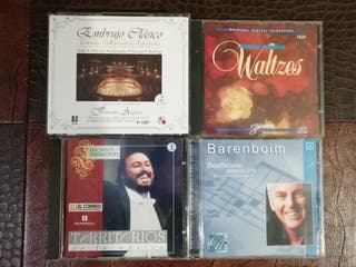 5 CD's música clásica, opera