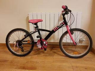 Bicicleta montaña B'TWIN niños/as de 5 a 10 años