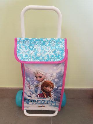 Carrito de la compra juguete de Frozen