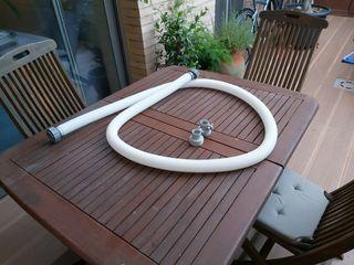 tubo para piscina intex + conectores