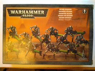 12 Guerreros Necrón y 3 Escarabajos, Warhammer 40k