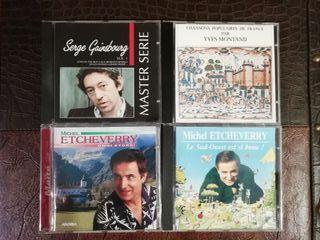 CD's música francesa