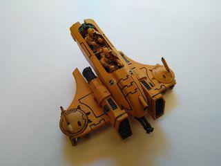 Aerodeslizador Piraña Tau, Warhammer 40k