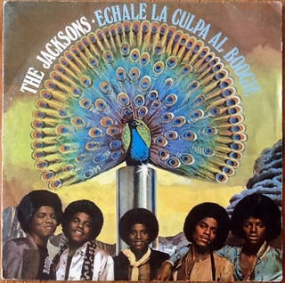 """THE JACKSONS """"BLAME IT ON THE BOOGIE"""" single-7'"""