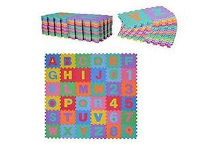 Suelo puzzle de goma bebe desmontable