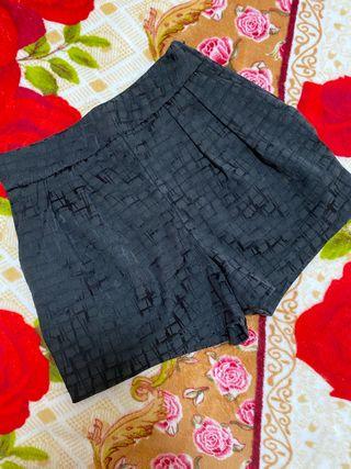 Pantalón corto de cintura alta