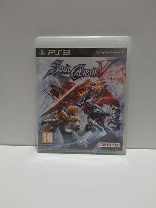 Soul Calibur V para PS3.