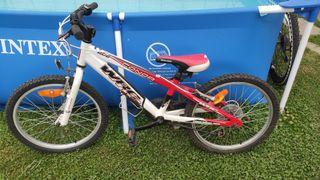 Bicicleta Conor 20 pulgadas, para niño/ niña.
