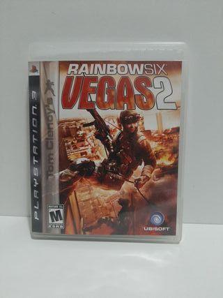 Rainbowsix Vegas 2 para Ps3 en Inglés.