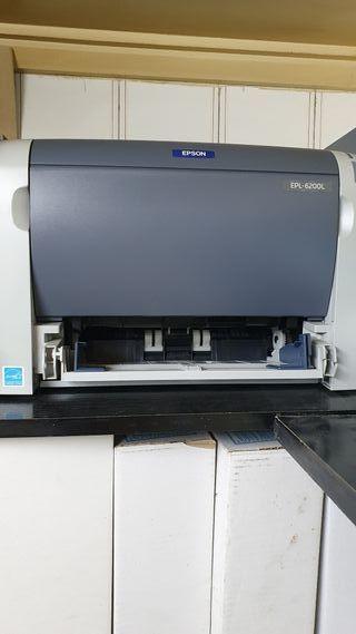 Impresora Epson Epl 6200L.