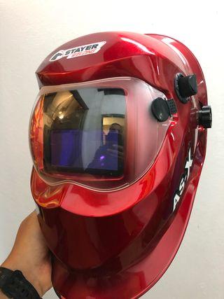 máscara soldar automatica