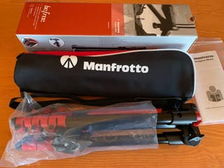 Tripode Manfrotto Befree rojo MKBFRA4R-BH