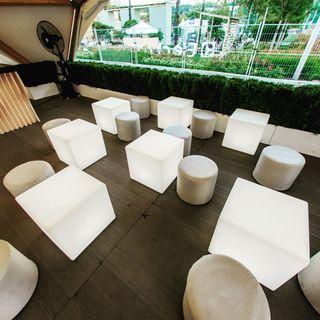 Muebles led en plastico